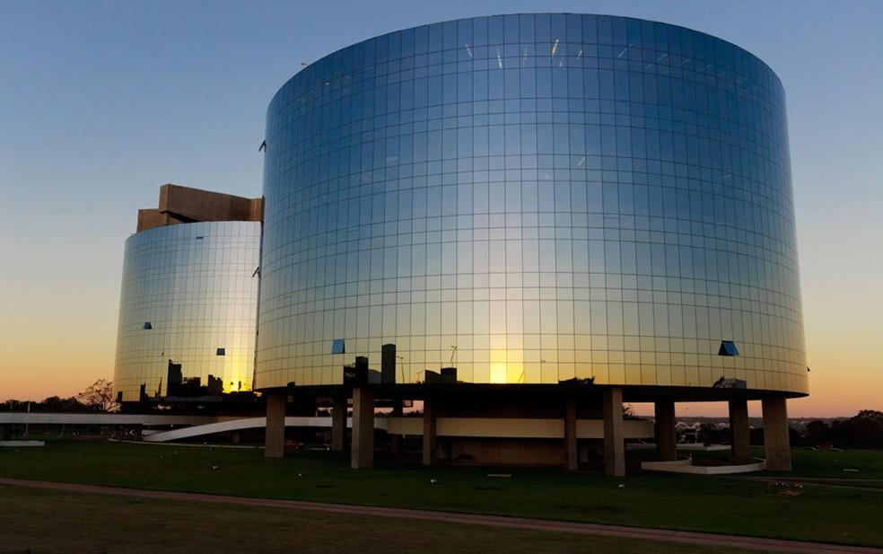 Prédio da Procuradoria-Geral da República, em Brasília (DF), projetado pelo arquiteto Oscar Niemeyer (Foto: Marcelo Brandt/G1)