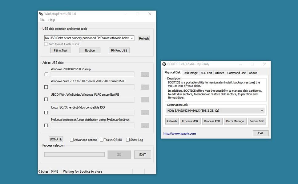 criar pendrive bootavel windows xp winsetupfromusb