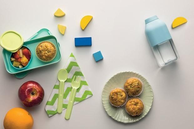 cupcake de vegetais lancheira (Foto: Carlos Cubi /Editora Globo)