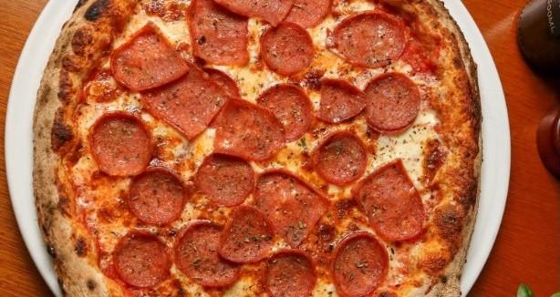 A pizza Boscaiola
