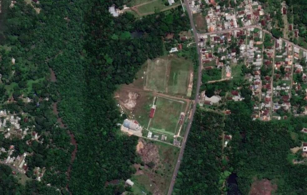 Centro de Treinamento do Carajás. Espaço deve ser comprado pelo Remo — Foto: Reprodução/Google Maps