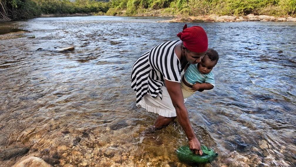 Aumentou o número de famílias em extrema pobreza no Brasil — Foto: Sergio Amaral/Ministério da Cidadania