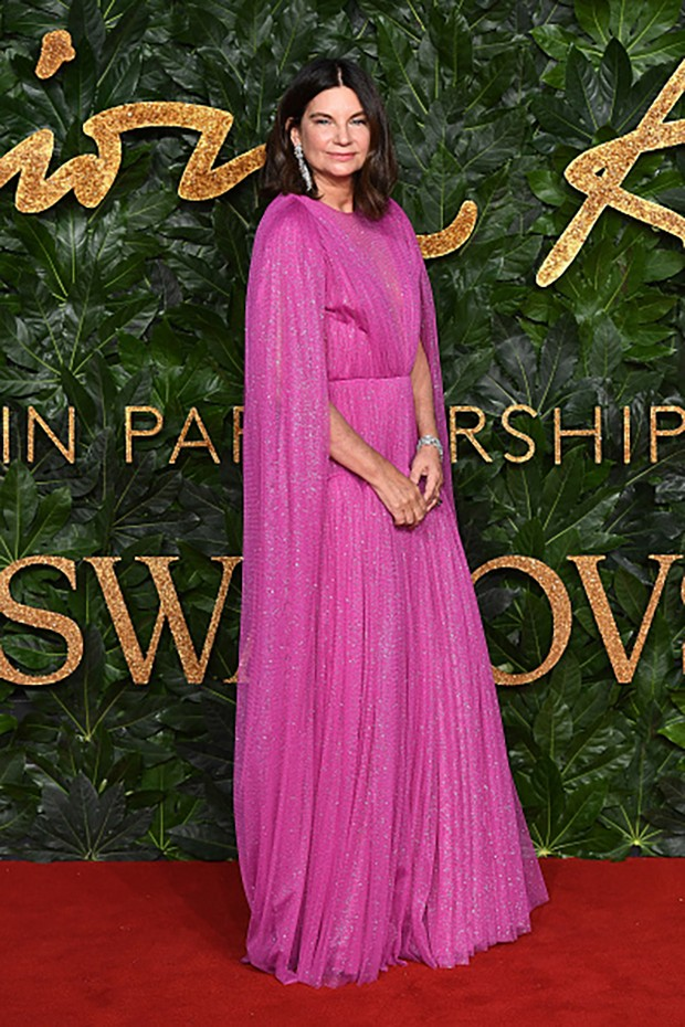 LONDON, ENGLAND - DECEMBER 10:  Natalie Massenet arrives at The Fashion Awards 2018 In Partnership With Swarovski at Royal Albert Hall on December 10, 2018 in London, England.  (Photo by Jeff Spicer/BFC/Getty Images for BFC) (Foto: Getty Images for BFC)