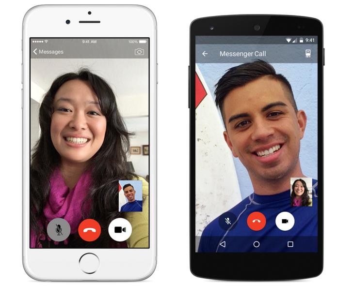 Facebook lançou chamadas de vídeo para o Messenger (Foto: Divulgação)