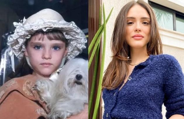 Em um de seus primeiros papéis na TV, Isabelle Drummond viveu Rosa, filha de Maria Eduarda e Joaquim. A atriz poderá ser vista em breve no filme 'Turma da Mônica: Lições' (Foto: Reprodução)