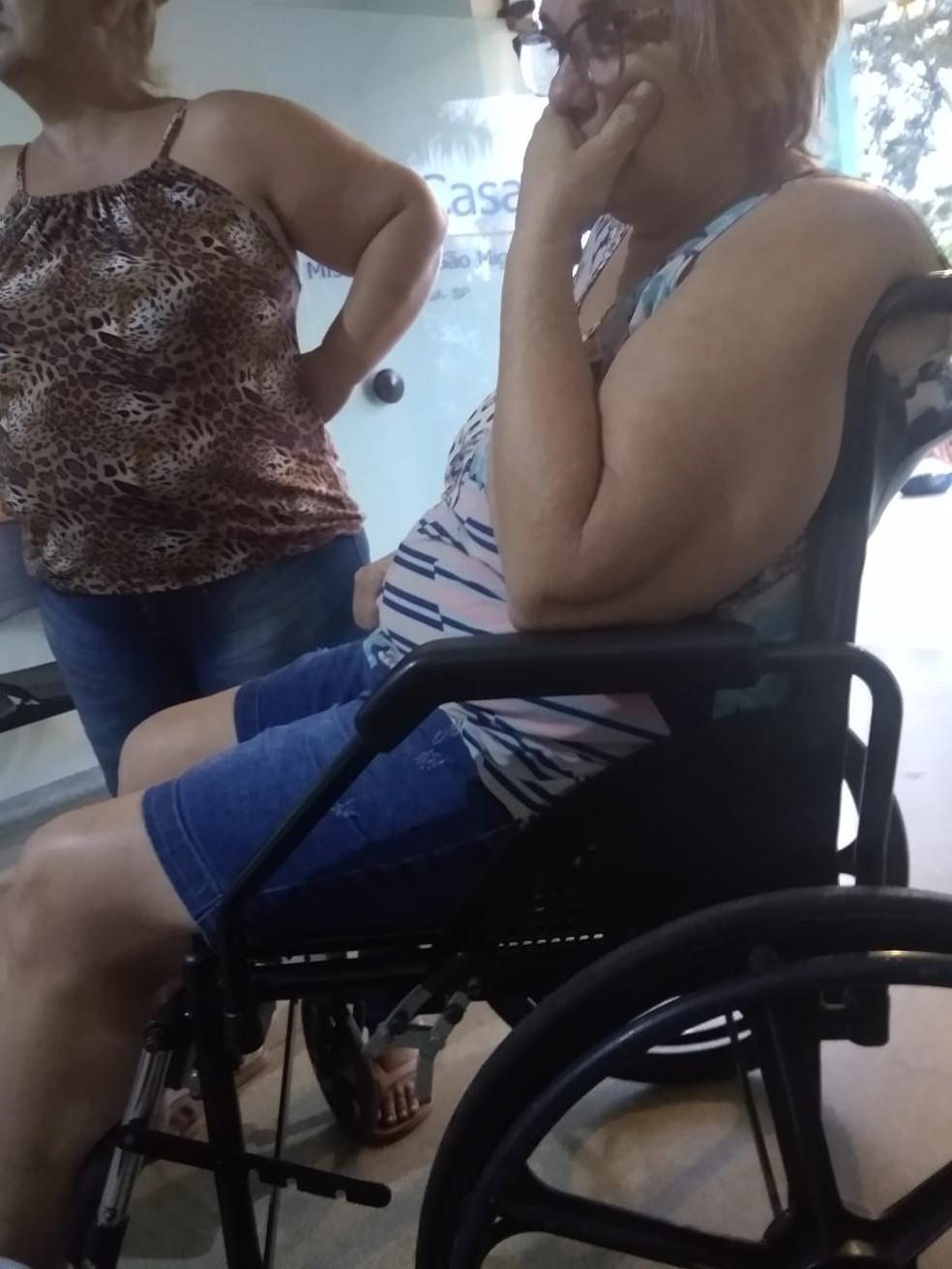 Vizinhos se agrediram durante a discussão e foram encaminhados para o pronto-socorro de Tabatinga — Foto: Arquivo pessoal/Lidiane Silva