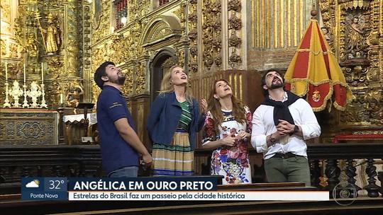 Programa 'Estrelas do Brasil' vai mostrar os cantinhos de Ouro Preto neste sábado