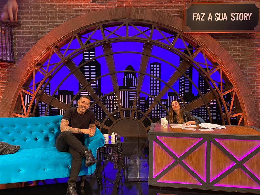 Carlinhos Maia e Tata Werneck no Lady Night (Foto: Divulgação / Multishow)