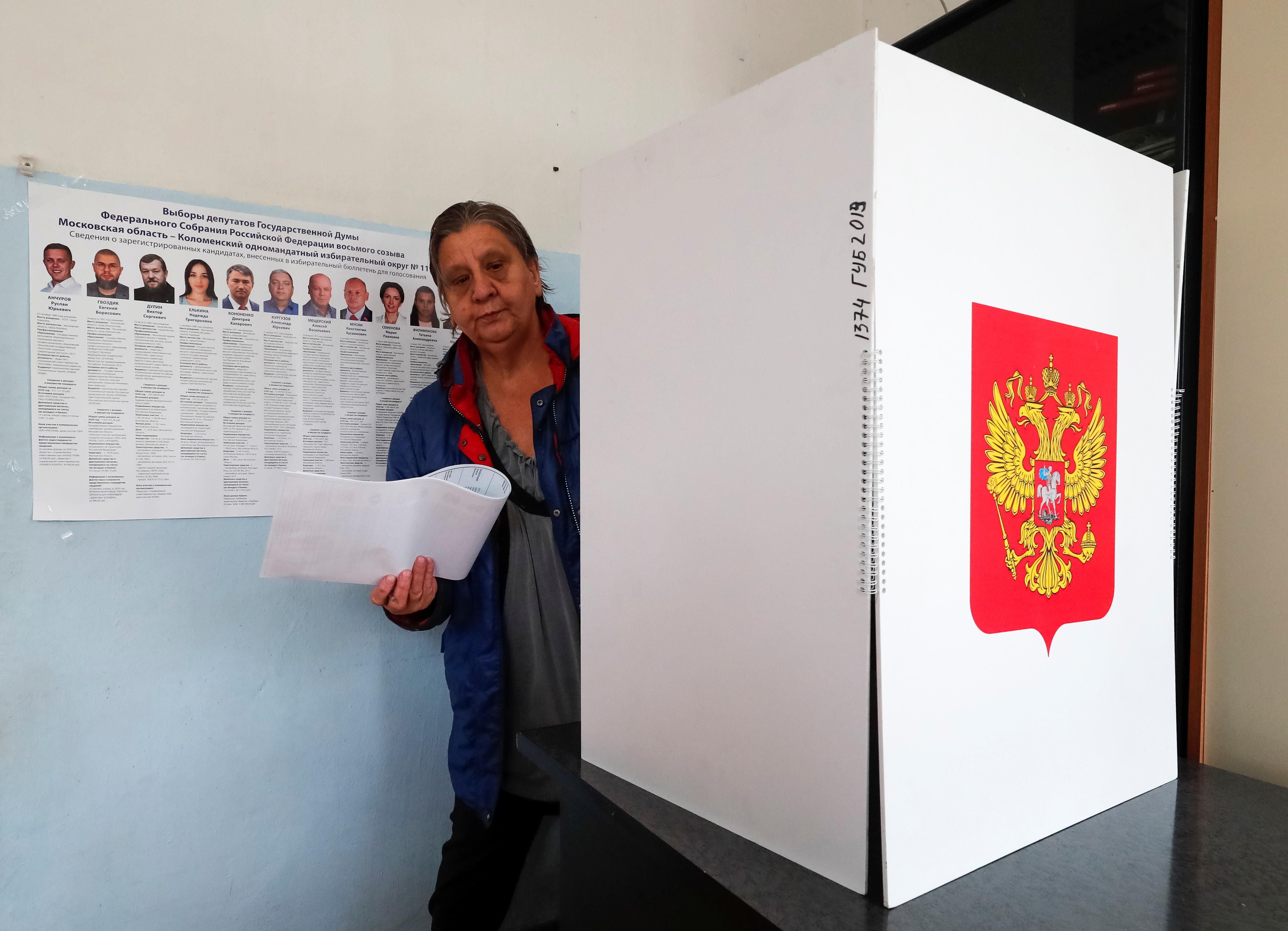 Comissão Eleitoral russa denuncia ciberataques do exterior nas eleições legislativas