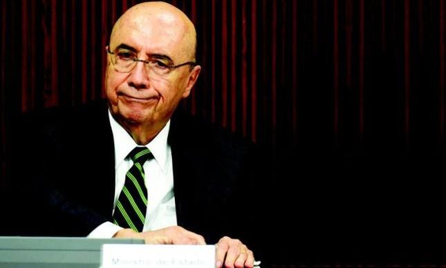 Ministro da Fazenda Henrique Meirelles