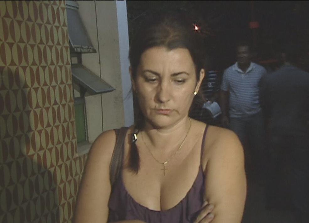 Delegada Martha Vargas durante as investigações do 'crime da 113 Sul' (Foto: Reprodução/TV Globo)