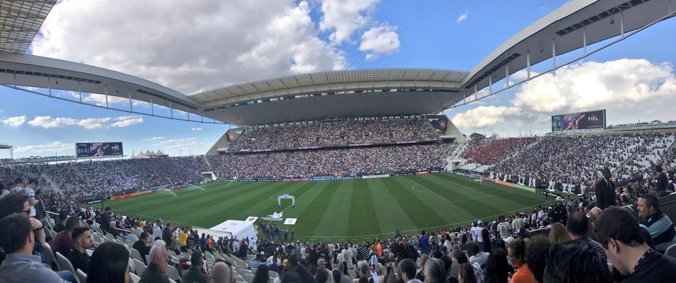 Corinthians tem até 2028 para pagar a Arena (Foto: Reprodução)