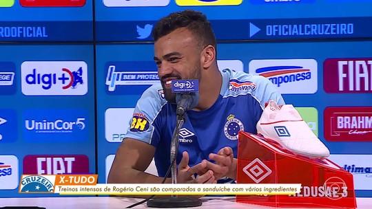 Fabrício Bruno avalia treinos intensos no Cruzeiro como caminho para vitória
