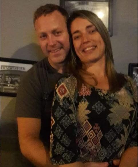 Sérgio Hondjakoff e a namorada, Danielle Monteiro (Foto: Reprodução/ Instagram)