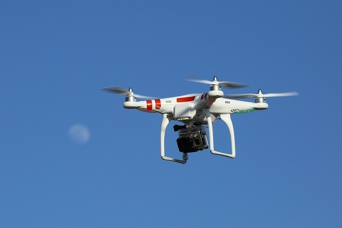 Drones são usados para fins recreativos (Foto: Flickr/Don McCullough)