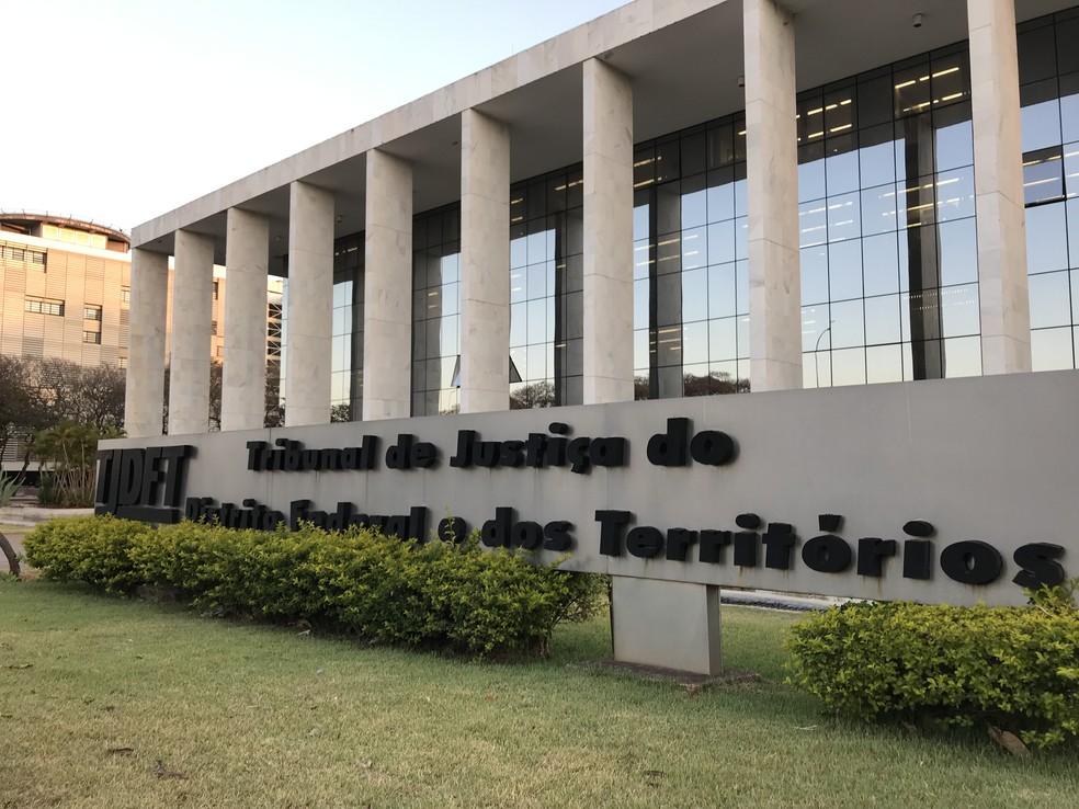 Tribunal de Justiça do DF e Territórios — Foto: Nicole Angel/ G1 DF
