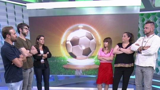 Comentaristas encaram videntes em desafio das profecias do futebol