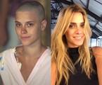 Em 'Laços de família' (2000), Carolina Dieckmann interpretou Camila, uma jovem com leucemia. A atriz raspou a cabeça em cena | Carlos Ivan/Reprodução