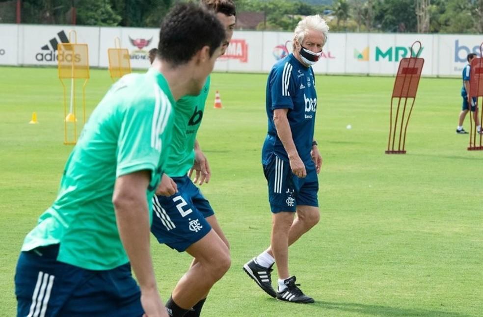 Veja como foi a primeira semana de trabalho do Flamengo