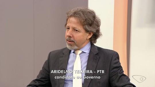 Aridelmo quer implantar tempo integral em todas as escolas estaduais até 2030