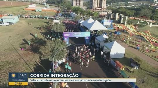 Assista momentos das vitórias brasileira e queniana na 5ª Corrida Integração