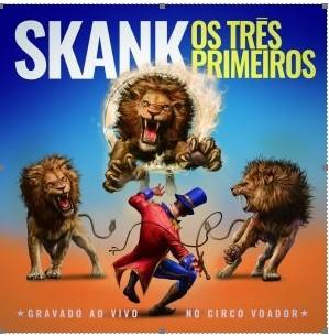 Capa de 'Os Três Primeiros', o novo disco do Skank, com ilustração de Emerson Camaleão (Foto: Divulgação)