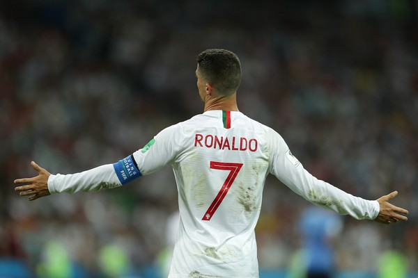 """O """"verdadeiro"""" CR7 em campo na eliminação de Portugual (Foto: Getty Images)"""