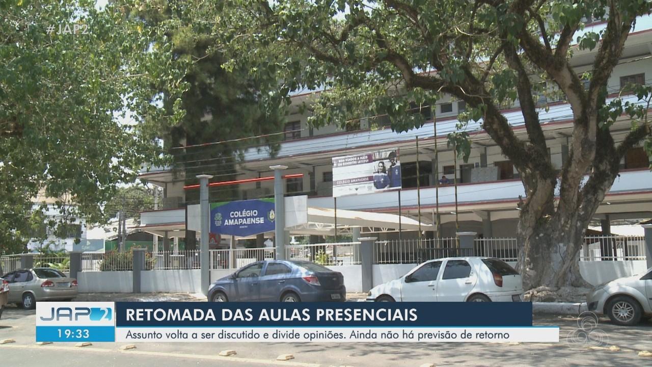 Sem previsão de retorno das aulas, assunto divide opiniões no Amapá