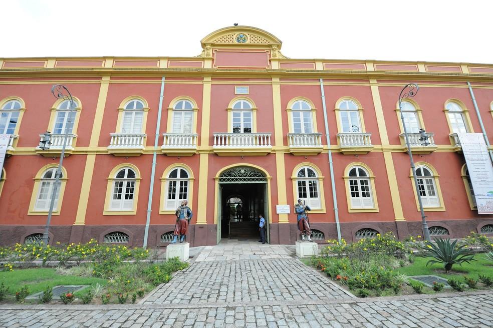 Palacete Provincial  visitas guiadas em todos os cinco museus que funcionam no complexo (Foto: Divulgação/SEC)