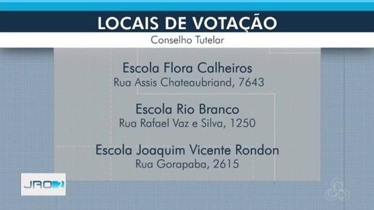 Eleições para conselheiros tutelares acontecem no domingo, 24, em Porto Velho; veja como votar