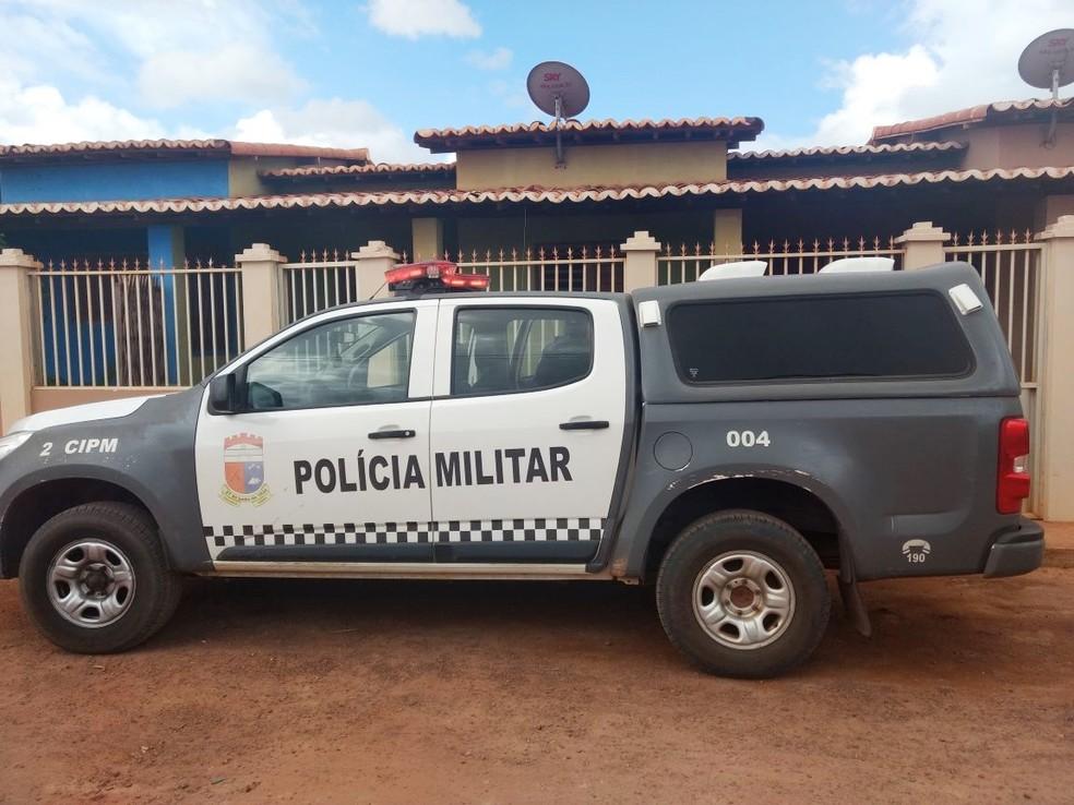 Polícia Militar foi chamada e fez buscas pelos criminosos, mas nenhum suspeito foi encontrado (Foto: PM/Divulgação)