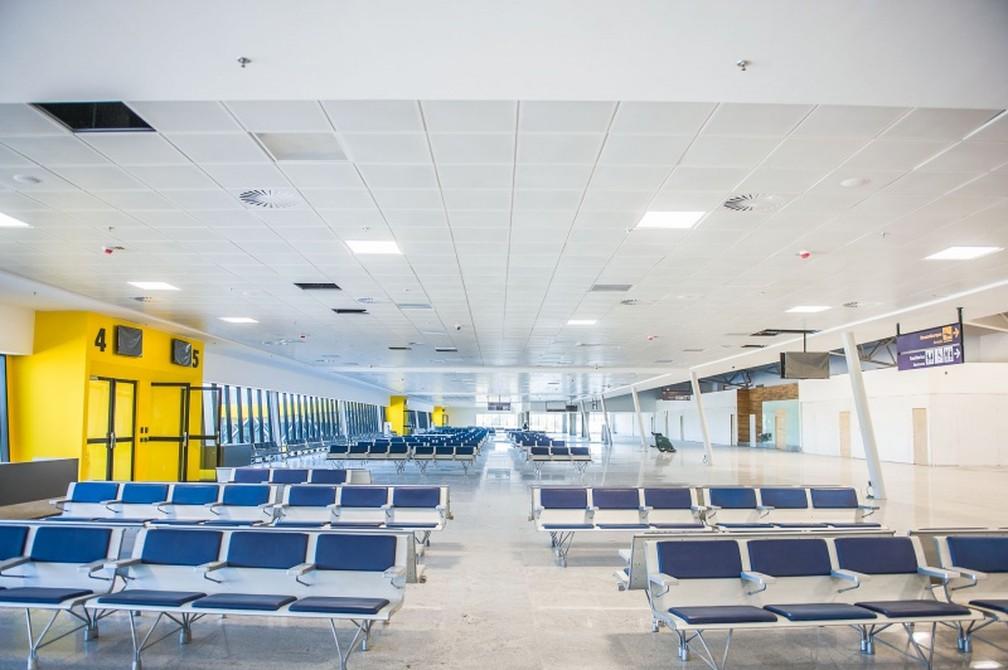 Novo terminal do Aeroporto de Vitória (Foto: Divulgação/Sá Cavalcante)