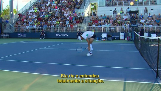 Fatos curiosos chamam atenção no US Open