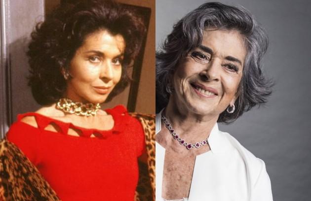 'Tieta' (1989) será reprisada pelo Viva a partir de maio. Betty Faria interpretou a protagonista. A última novela da atriz foi 'Boogie oogie' (2014) (Foto: TV Globo)