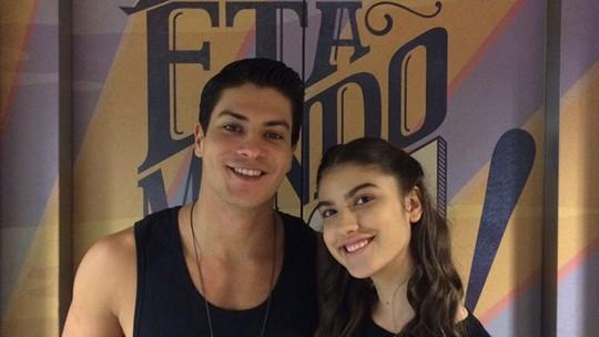 Giovanna Grigio e Arthur Aguiar falam sobre desfecho de seus personagens em 'Êta Mundo Bom!'