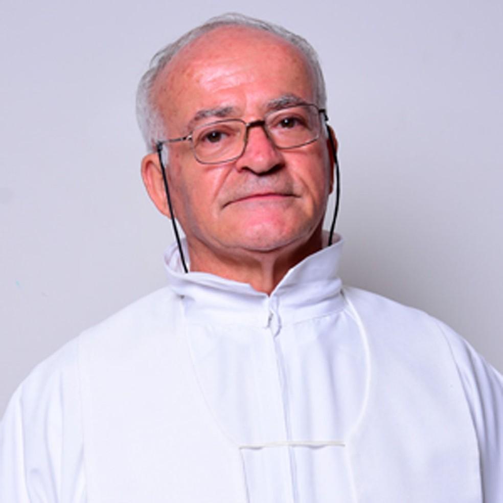 Padre Francesco Tolve, de Presidente Epitácio — Foto: Diocese de Presidente Prudente