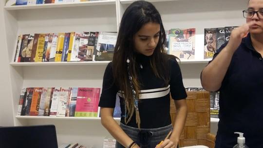 Pally Siqueira faz workshop sobre a doença de Amanda