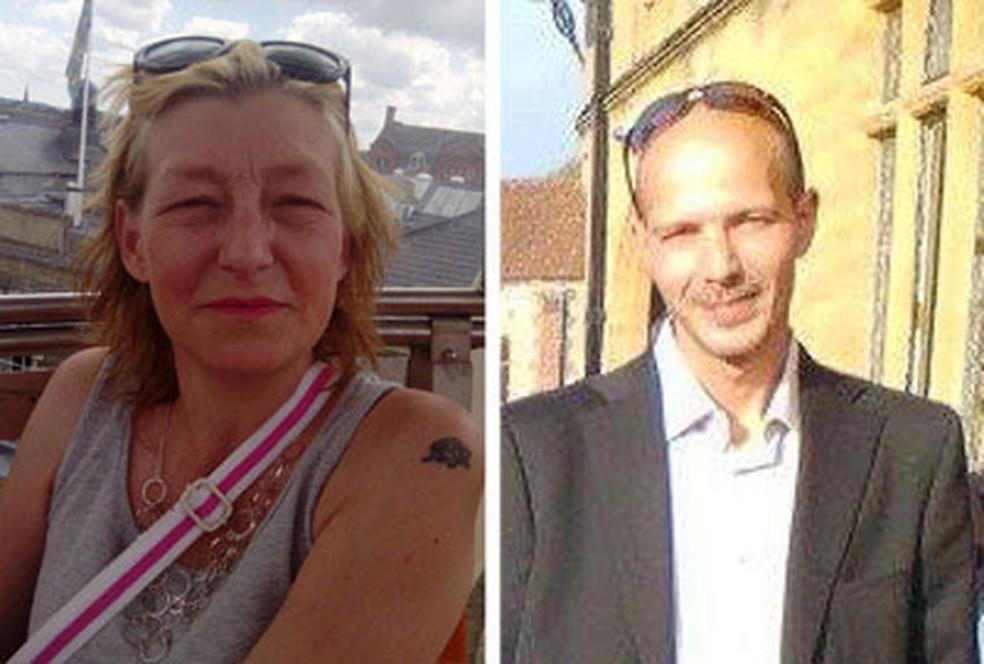 -  Dawn Sturgess, de 44 anos, e Charlie Rowley, de 45, foram socorridos em sua casa em Amesbury, no sul da Inglaterra  Foto: Reprodução/Facebook