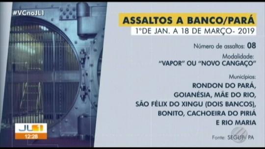 Polícia apreende armas usadas em assalto à agência bancária no nordeste do Pará