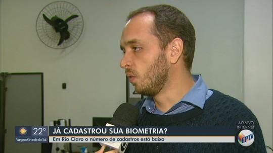 50% dos eleitores de Rio Claro ainda não fizeram a biometria; veja cidades em que é obrigatória