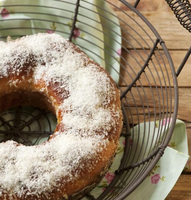 Rosca de leite condensado (Foto: Iara Venanzi/Casa e Comida)
