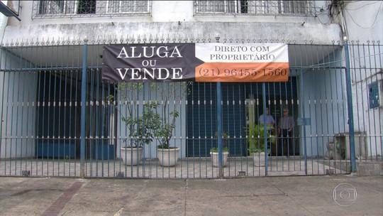 Mercado de imóveis comerciais no Rio bate recorde de desocupação