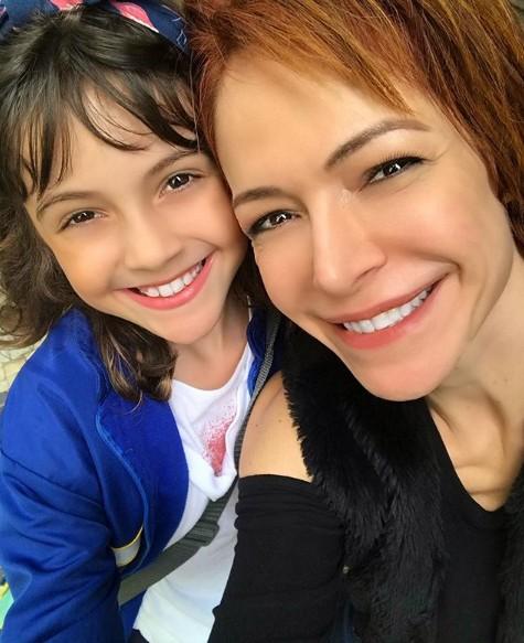 Babi Xavier com a filha, Cinthia (Foto: Reprodução Instagram)