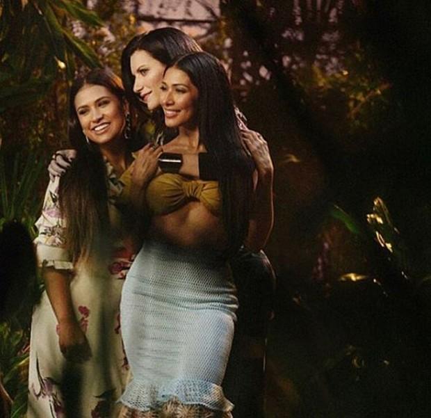 Simone e Simaria e Laura Pausini (Foto: Reprodução/Instagram)