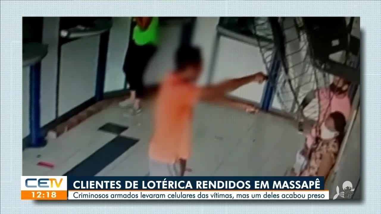 Clientes de lotérica são rendidos por bandidos em Massapê, no interior do Ceará