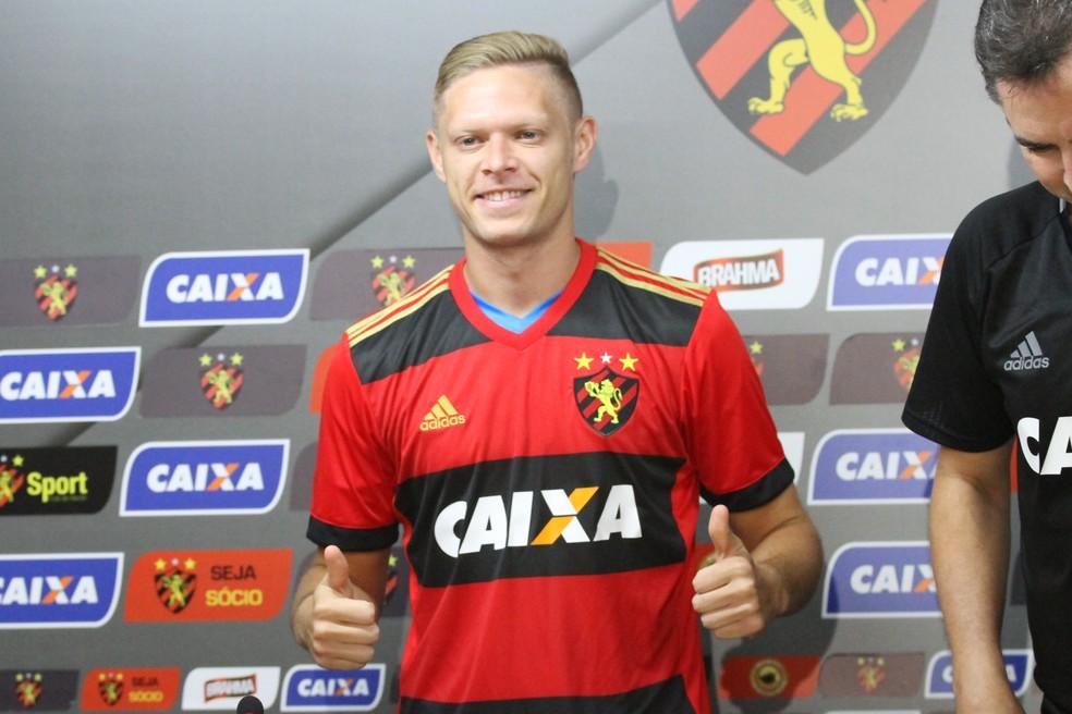 Marlone, meia-atacante do Sport Recife (Foto: Marlon Costa / Pernambuco Press)