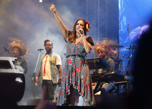 Ivete Sangalo (Foto: Daniel Janssens/Ed. Globo)