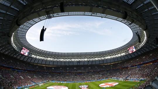 Fifa apenas adverte a Inglaterra por canção entoada na partida semifinal 59b3aedeaa2