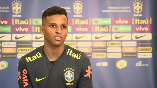 Lincoln e Rodrygo são destaques de seleção sub-20 para Sul-Americano de janeiro