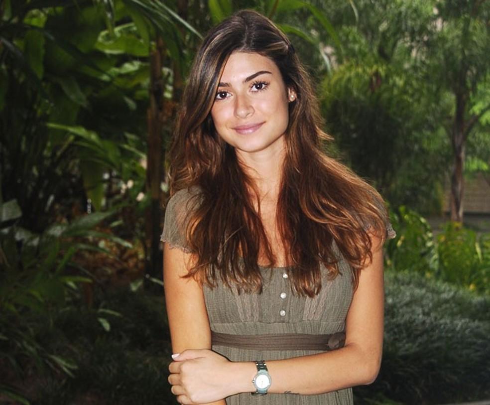 Thaila Ayala interpretou a Marcela em 'Malhação' — Foto: CEDOC/TV GLOBO